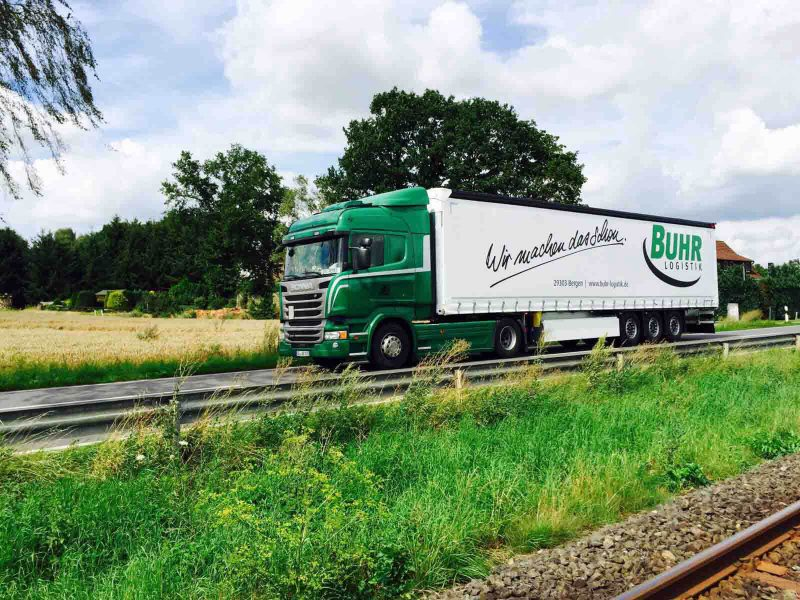 Buhr Logistik Tranporte der Buhr Gruppe